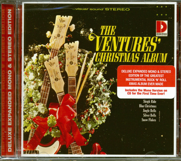 The Ventures' Christmas Album (CD)