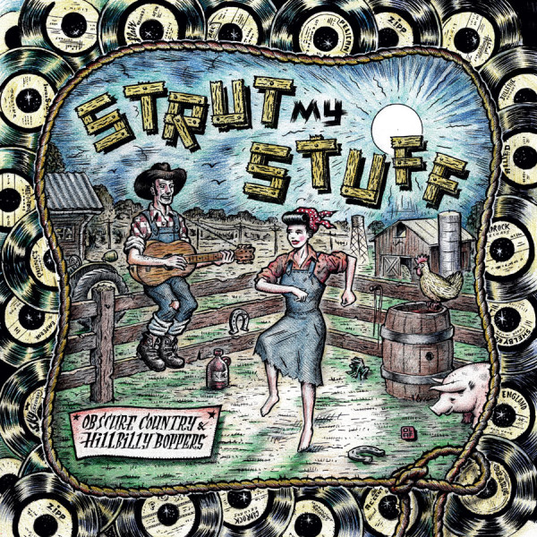 Strut My Stuff - Obscure Country & Hillbilly Boppers (2-LP, Colored Vinyl)
