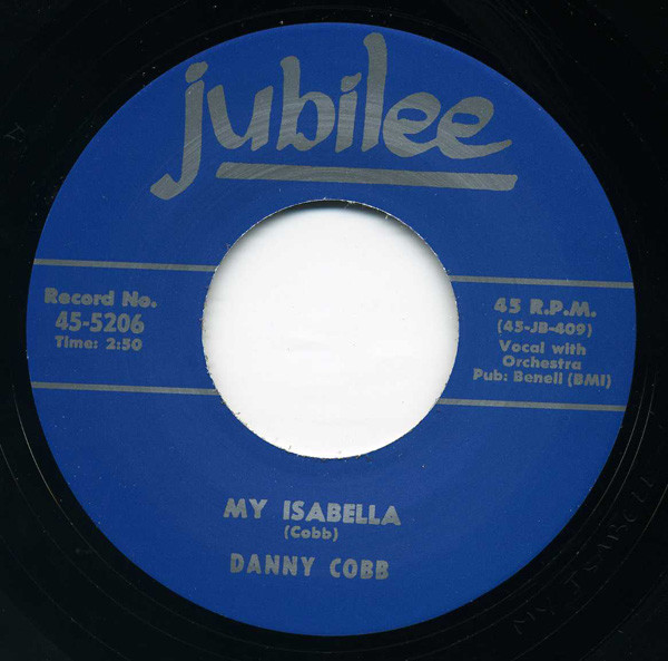 My Isabella - A Brand New Deal 7inch, 45rpm