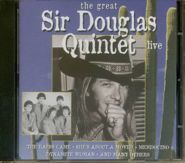 The Great Sir Douglas Quintet - Live (CD)