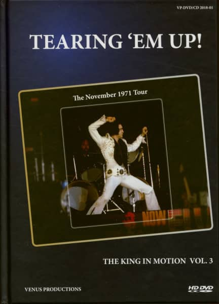 Tearing 'Em Up - The King In Motion Vol.3 (Book, DVD, 2-CD)