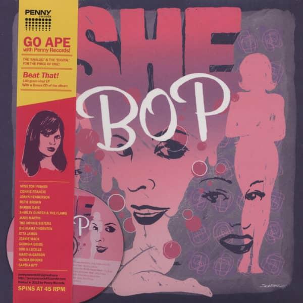 She Bop LP (45rpm) incl.CD