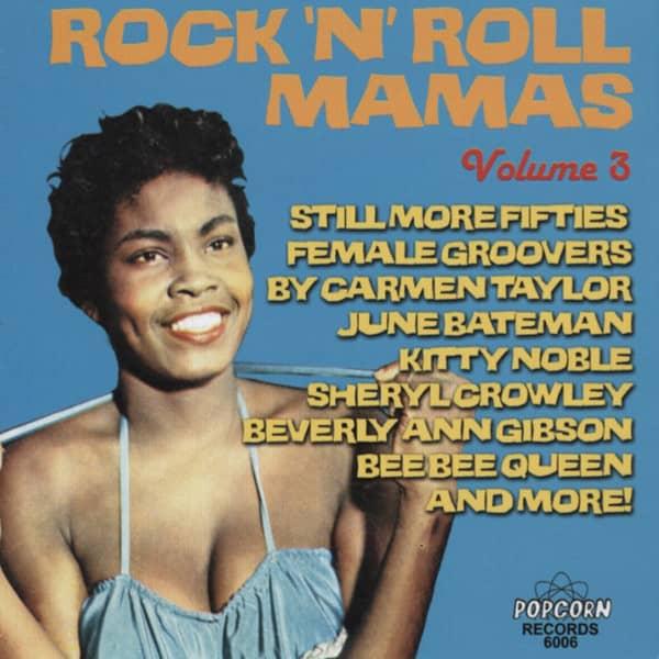 Rock'n'Roll Mamas Vol.3 (CD-R)