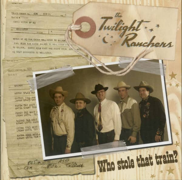 Who Stole That Train ? (CD)