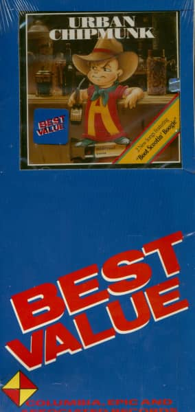 Urban Chipmunk (CD, US Longbox)