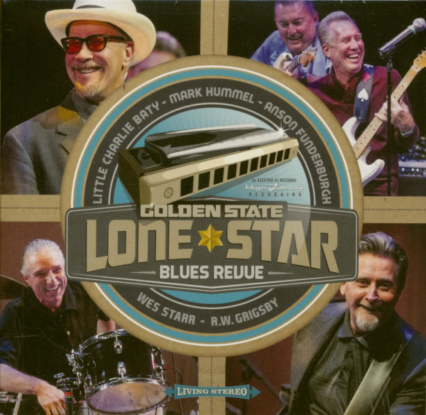 Golden State Lone Star Blues Revue (CD)
