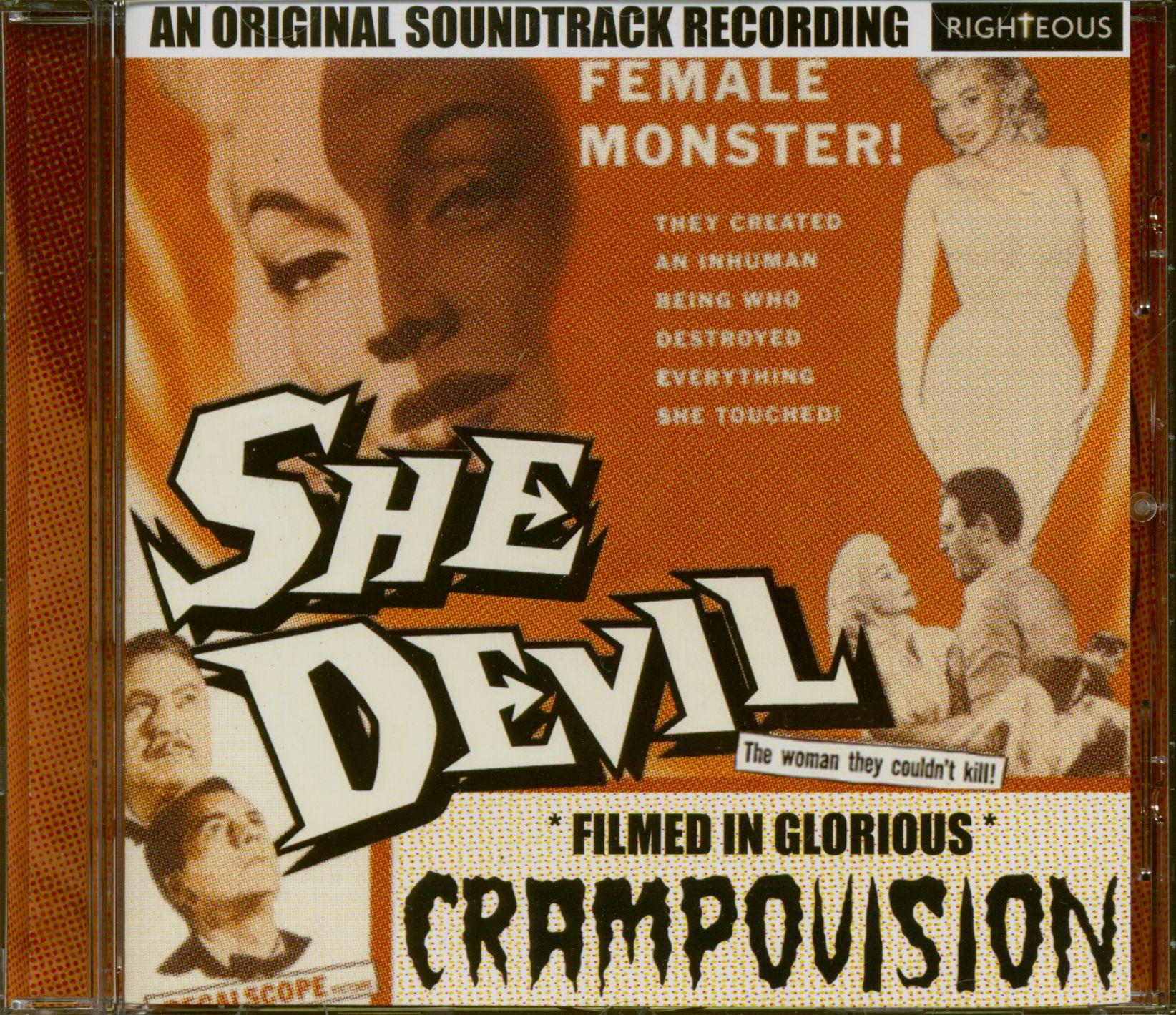 Preview She Devil OST CD