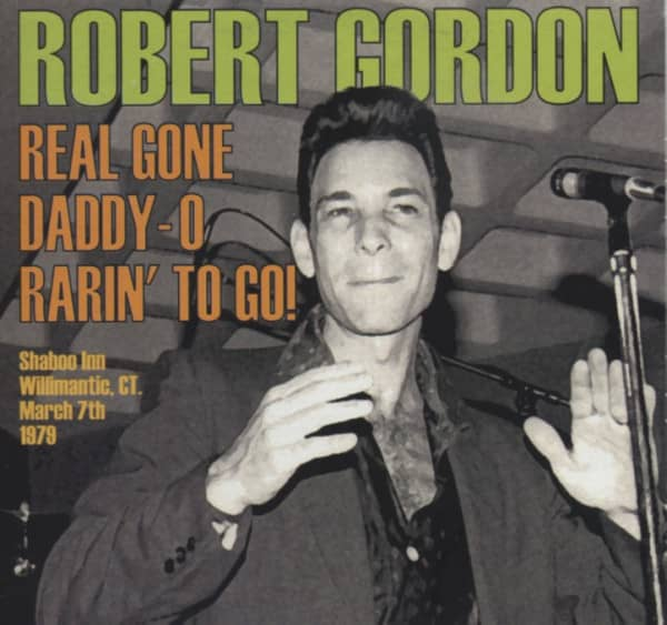 Real Gone Daddy-O Rarin' To Go (CD)