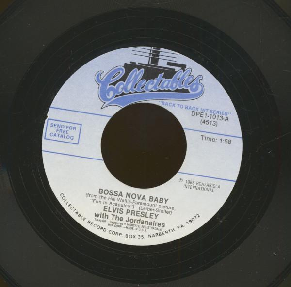 Bossa Nova Baby - Such A Night (7inch, 45rpm)