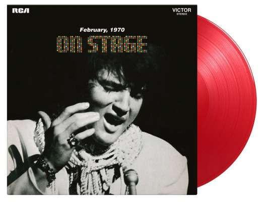 On Stage (LP, 180g, Red Vinyl, Ltd.)