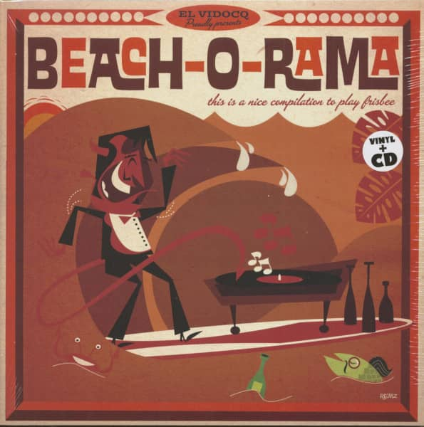 Beach-O-Rama (LP+CD)