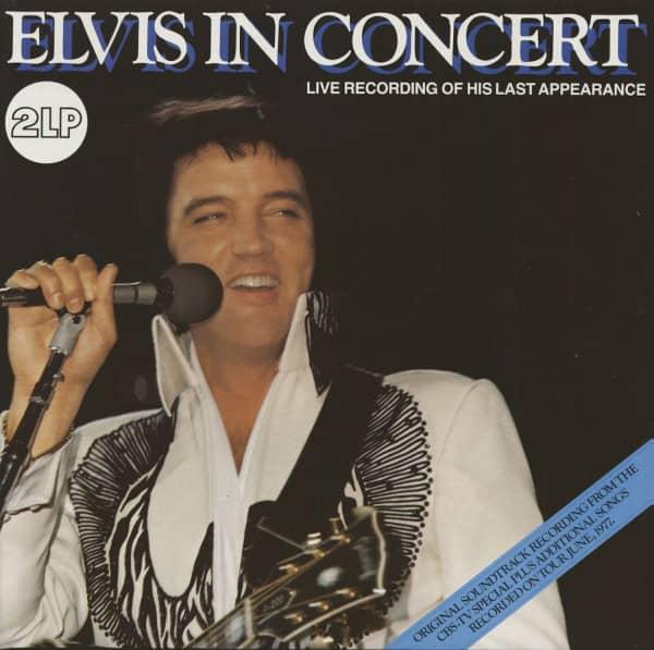 Elvis In Concert (2-LP)