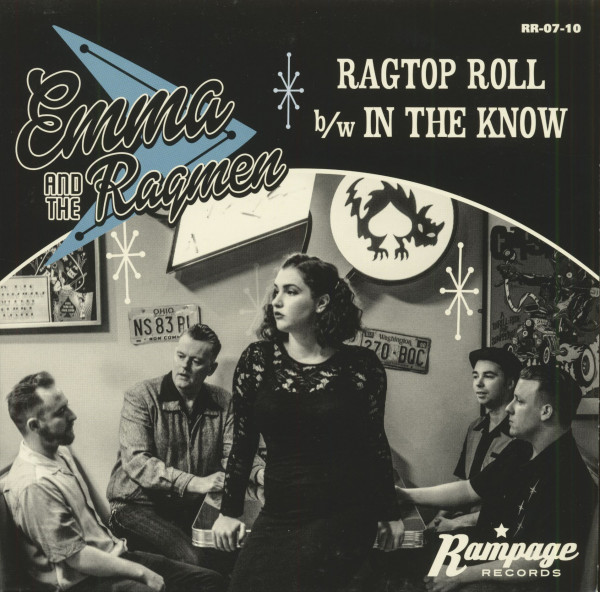 Ragtop Roll - In The Know (7inch, 45rpm, BC, PS)