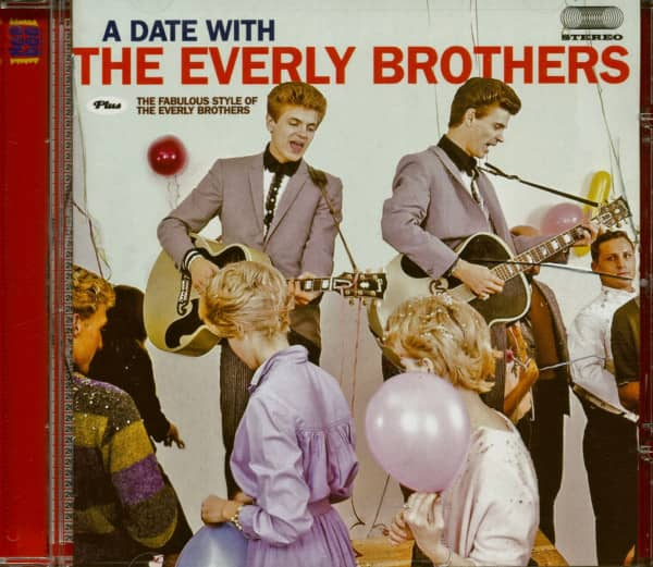 A Date With The Everly Brothers - The Fabulous Style Of The Everly Brothers (CD)