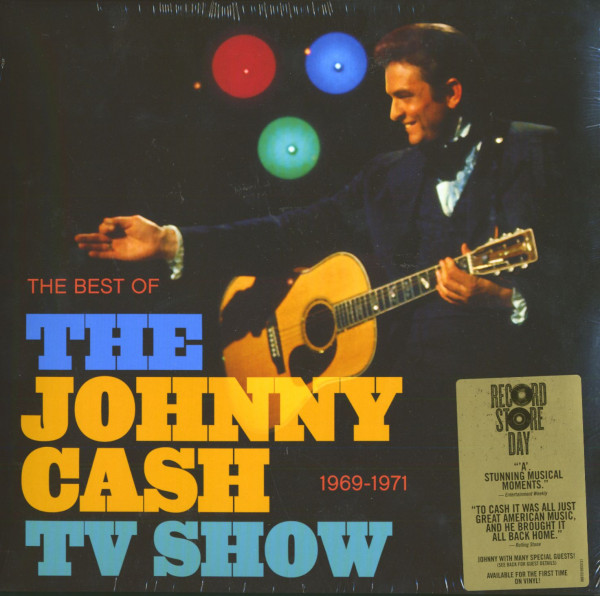 The Best Of The Johnny Cash TV Show 1969-1971 (LP)