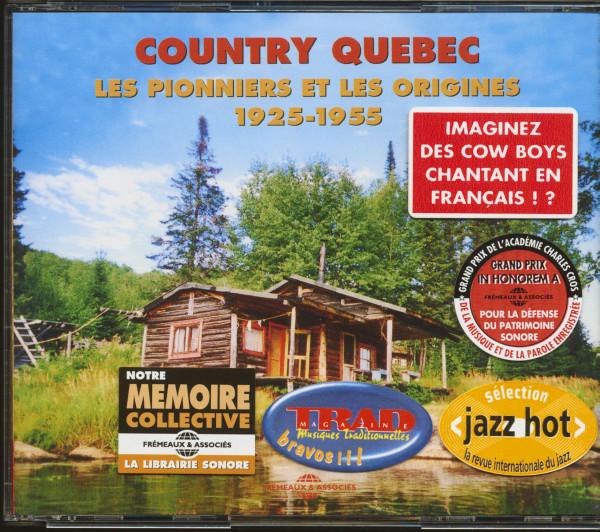 Country Québec 1925-1955 (2-CD)