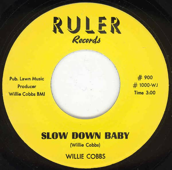 Slow Down Baby b-w You Don't Love 7inch, 45rpm