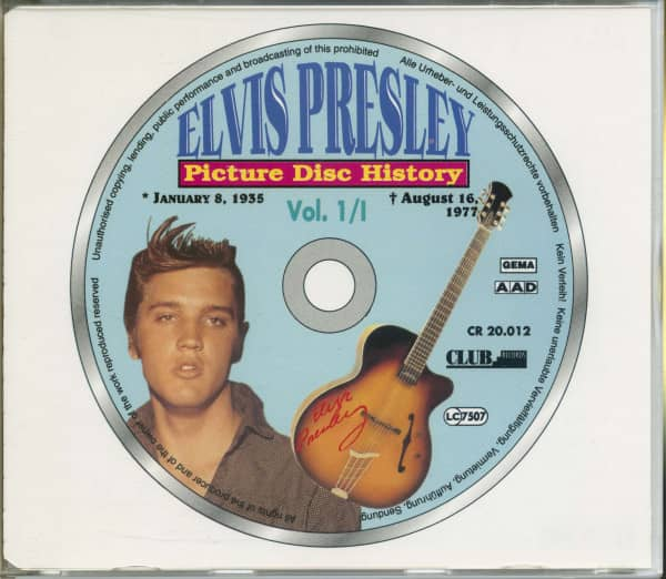 Picture Disc History Vol.1 (2-CD)