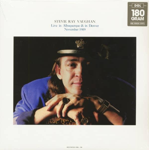 Live In Albuquerque & In Denver November 1989 (2-LP)