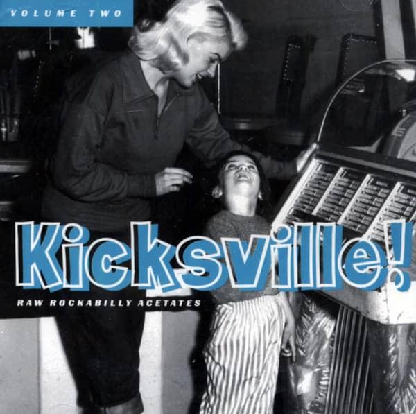 Kicksville - Rockabilly Acetates Vol.2 (CD)