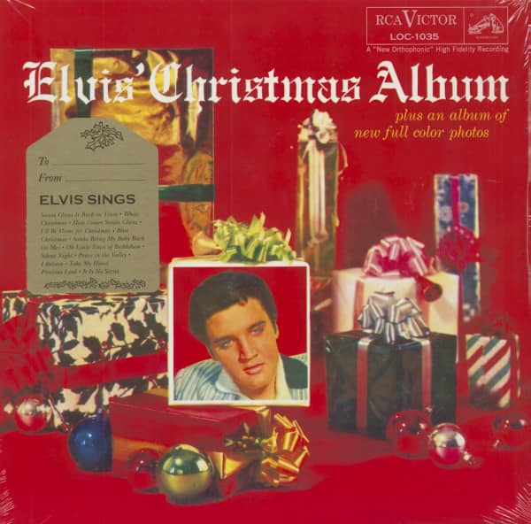 Elvis Christmas Album.Elvis Presley Elvis Christmas Album Lp Hq Vinyl Gatefold
