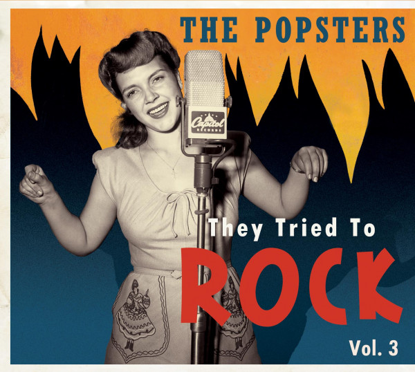 Vol.3, The Popsters - They Tried To Rock (CD)