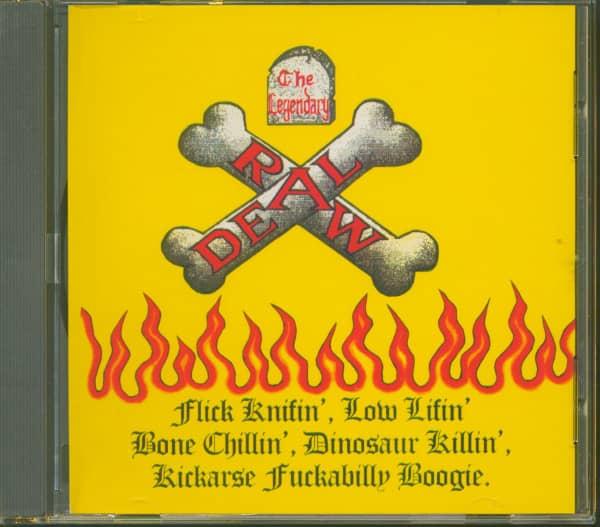 The Legendary Raw Deal (CD)