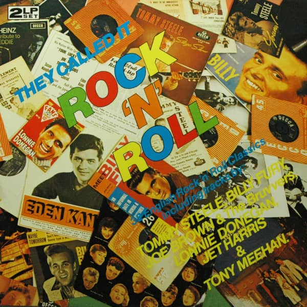 They Called It Rock & Roll (2-LP) 32 English Rock'n'Roll Classics