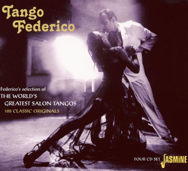 Tango Federico's World's Greatest 4-CD