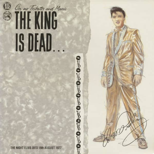 The King Is Dead - On Air Tributes And Music (LP)