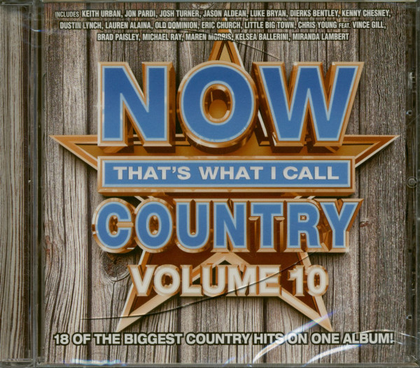 Now That's What I Call Country Vol.10 (CD)