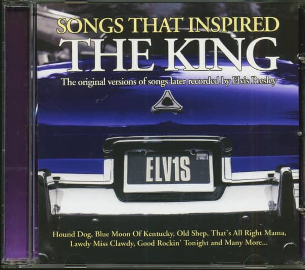 Songs That Inspired The King (CD)