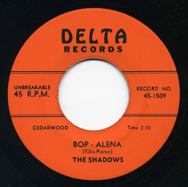 Bop Alena b-w There Stands The Glass 7inch, 45rpm