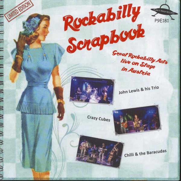 Rockabilly Scrapbook (7inch, 45rpm, EP, PS, BC)