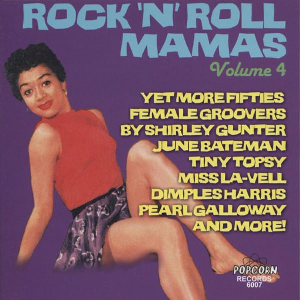 Rock'n'Roll Mamas Vol.4 (CD-R)
