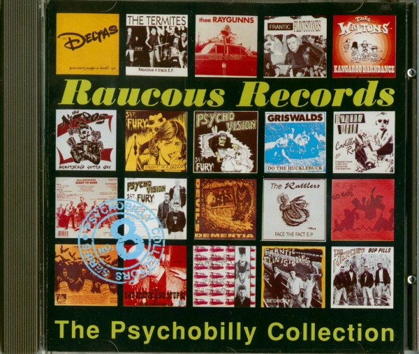 Raucous Records - The Psychobilly Collection (CD)