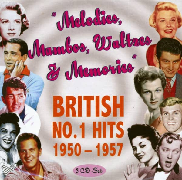 Melodies, Mambos, Waltzes & Memories (3-CD)
