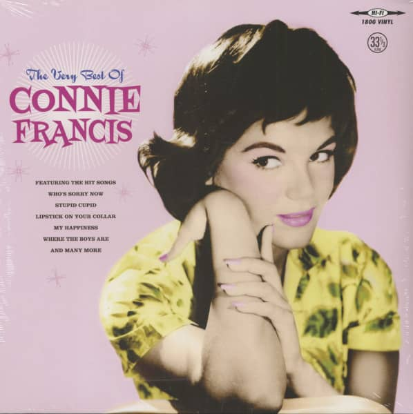 The Very Best Of Connie Francis (LP, 180g Vinyl)