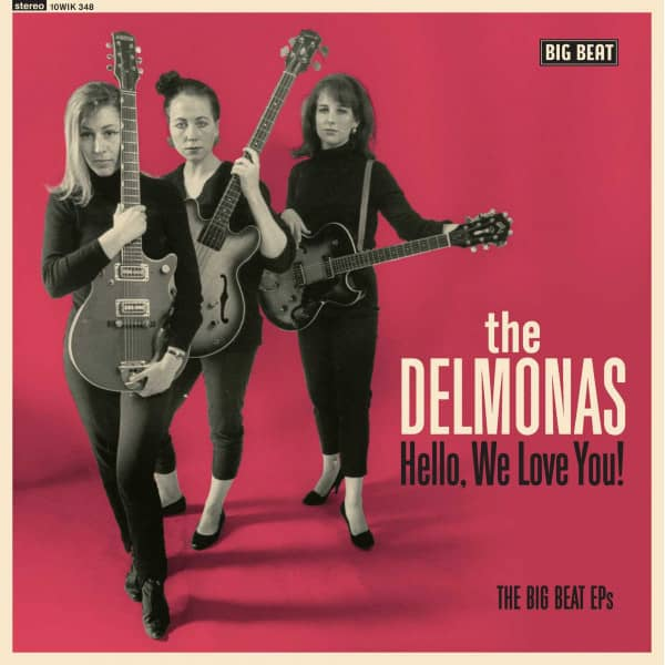 Hello, We Love You! - The Big Beat EP's (LP, 10inch)
