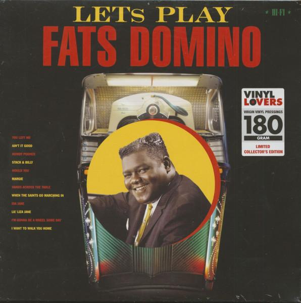 Let's Play Fats Domino (LP, 180g Vinyl, Ltd.)