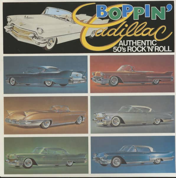 Boppin' Cadillac (LP)