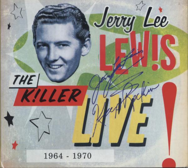 The Killer Live 1964-70 (3-CD Digi) Limited Edition