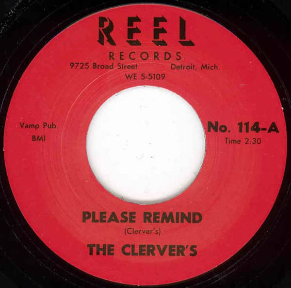 Please Remind b-w Tears 7inch, 45rpm