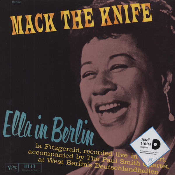 Ella In Berlin - Mack The Knife - Live in West Berlin (LP)