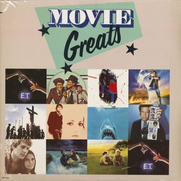 Movie Greats - Soundtrack (LP, Cut-Out)