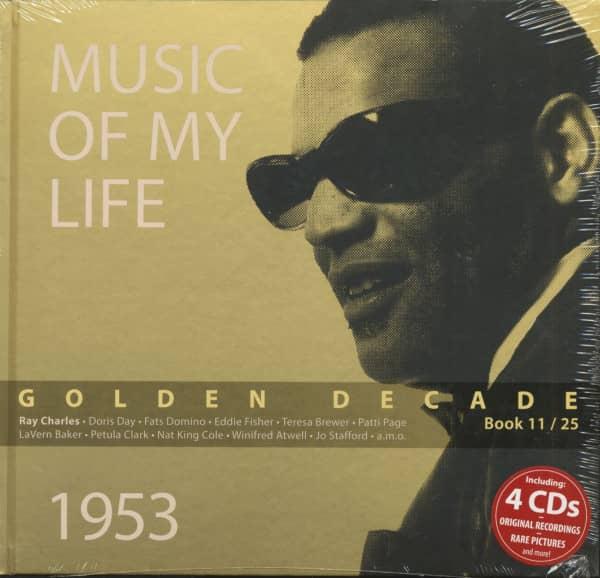 Golden Decade Vol.11 - 1953 (Book & 4-CD)