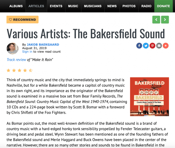 Press-Archive-Various-Artists-The-Bakersfield-Sound-1940-1974-all-about-jazz