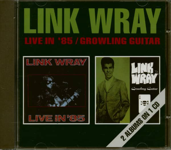 Live In '85 & Growling Guitar (CD)