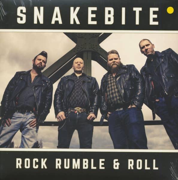 Rock Rumble & Roll (LP, Yellow Vinyl, Ltd.)