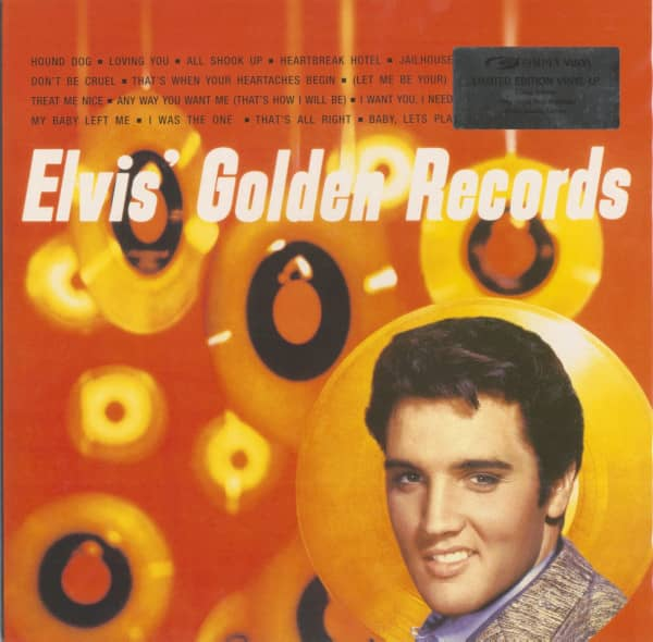 Elvis' Golden Records (180g Vinyl Limited Edition)
